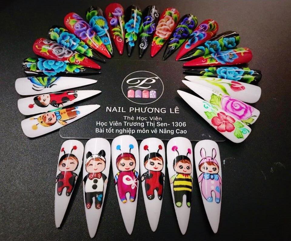 Cửa hàng nail rẻ đẹp ở Hà Nội