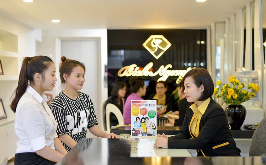 Spa da mặt ở Hà Nội