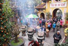 chùa cầu may đầu năm Hà Nội