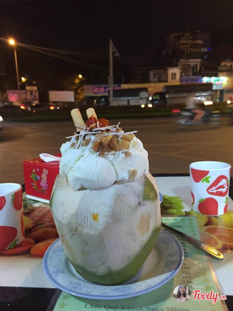 quán thạch dừa ngon ở Hà Nội