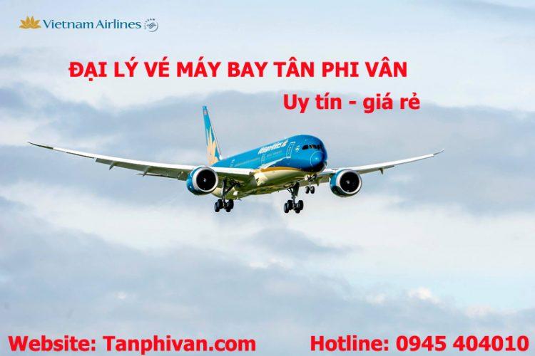 vé máy bay Tân Phi Vân